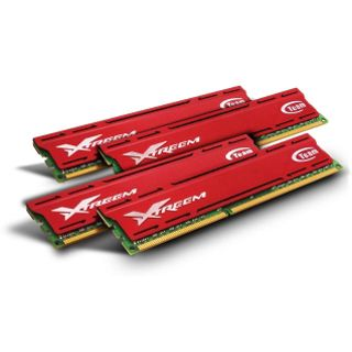 32GB TeamGroup Vulcan Series rot DDR3-1600 DIMM CL10 Quad Kit