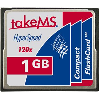 1 GB takeMS HyperSpeed Compact Flash TypI 120x Retail