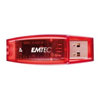 4 GB EMTEC C410 Color Mix rot USB 2.0
