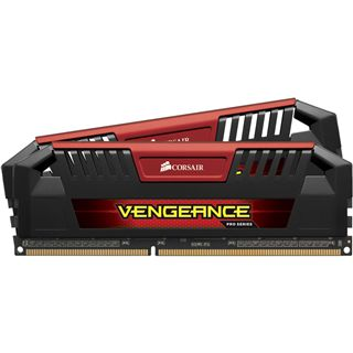 16GB Corsair Vengeance Pro Series rot DDR3-1866 DIMM CL9 Dual Kit