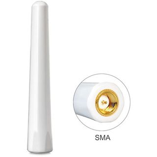 Delock GSM/UMTS Antenne SMA, starr, 77mm, weiß