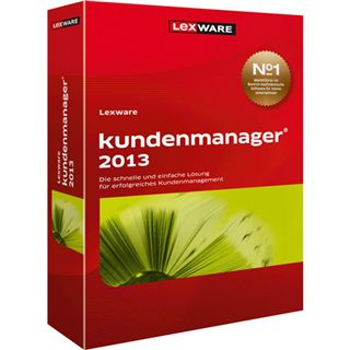 Lexware Kundenmanager 2013 (Ver. 9.0) 32/64 Bit Deutsch Office Vollversion PC (CD)