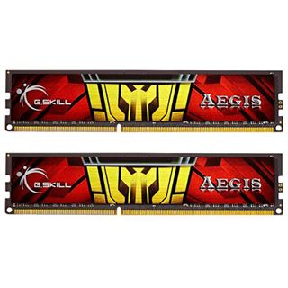 16GB G.Skill Aegis DDR3-1333 DIMM CL9 Dual Kit