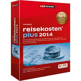 Lexware Reisekosten Plus 2014 Deutsch Finanzen Vollversion PC (CD)