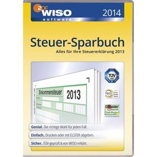 Buhl Data Service WISO Steuer-Sparbuch 2014 Deutsch Finanzen Vollversion PC (CD)