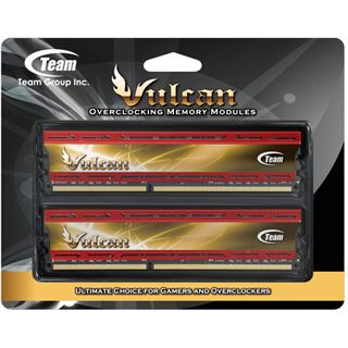 16GB TeamGroup Vulcan Series Red DDR3-2133 DIMM CL10 Dual Kit