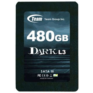 "480GB TeamGroup Dark L3 2.5"" (6.4cm) SATA 6Gb/s MLC (T253L3480GMC101)"