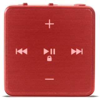 Odys Qubo MP3-Player rot