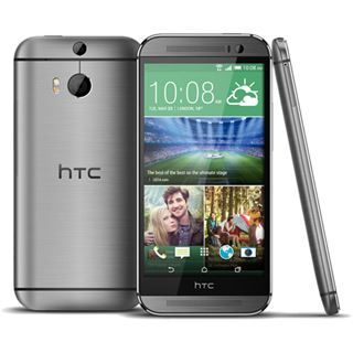 HTC One (M8) 16 GB grau