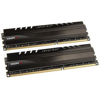 8GB Avexir Core Series rote LED DDR3-2133 DIMM CL11 Dual Kit