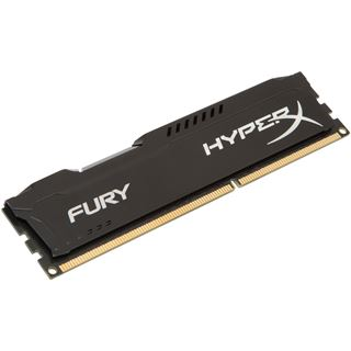 4GB HyperX FURY schwarz DDR3-1333 DIMM CL9 Single