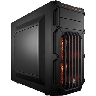 Corsair Carbide Series SPEC-03 orange mit Sichtfenster Midi Tower ohne Netzteil schwarz/orange