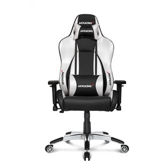 AKRacing Premium V2 Gaming Chair - schwarz/silber