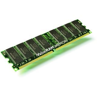 512MB Kingston ValueRAM DDR-400 regECC DIMM CL3 Single