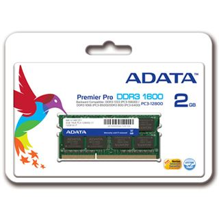 4GB ADATA Premier Single Rank DDR3-1600 SO-DIMM CL11 Single