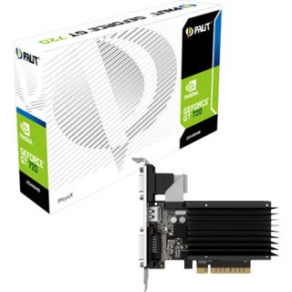 2GB Palit GeForce GT 720 Passiv PCIe 2.0 x 8 (Retail)