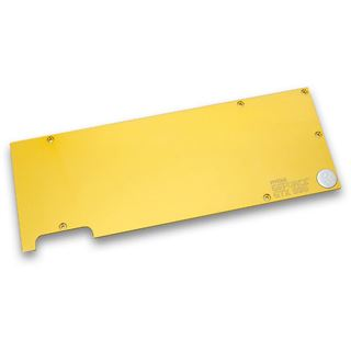 EK Water Blocks EK-FC980 GTX gold Backplate für EK-FC980 GTX (3831109869314)