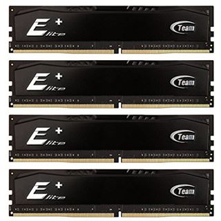 32GB TeamGroup Elite Plus Series DDR4-2400 DIMM CL16 Quad Kit