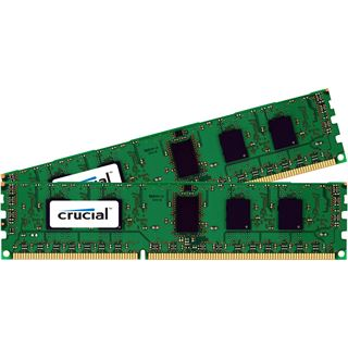 4GB Crucial DDR3-1066 ECC DIMM CL7 Dual Kit