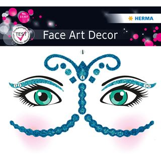 Herma Face Art Sticker Bollywood