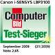 Test-Sieger (befriedigend - 2,65)
