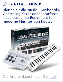 Keyboards, Controller, Mixer - Ihre Musikerkarriere startet hier.