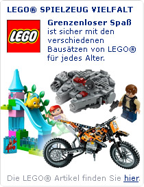 Lego ist für jede Altersgruppe ein Riesenspaß!