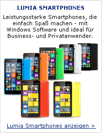 Lumia - Leistungsstarke Smartphones, die einfach Spaß machen - mit Windows Software und ideal für Business- und Privatanwender.