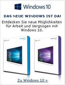 Das neue windows ist da! Entdecken Sie neue Möglichkeiten für Arbeit und Vergnügen mit Windows 10.