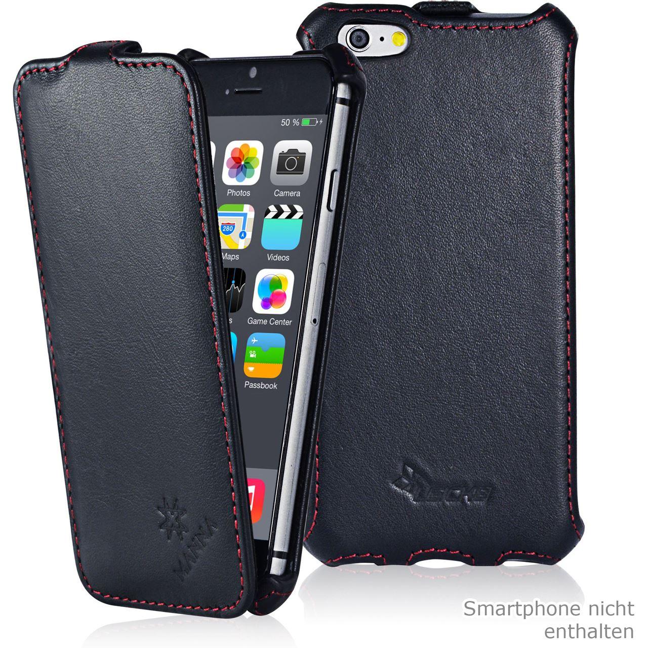 manna ultraslim h lle f r iphone 6 mit 4 7 zoll flip handytaschen hardware notebooks. Black Bedroom Furniture Sets. Home Design Ideas