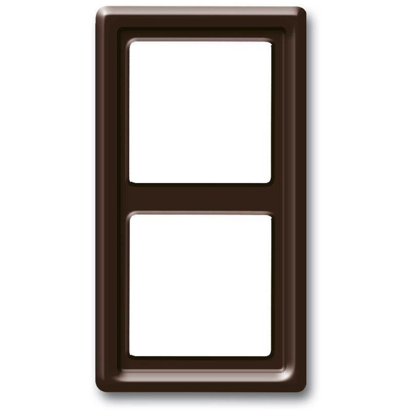 busch jaeger rahmen 2f br glz allwetter 44 kst f upinstall thermopl schalter. Black Bedroom Furniture Sets. Home Design Ideas
