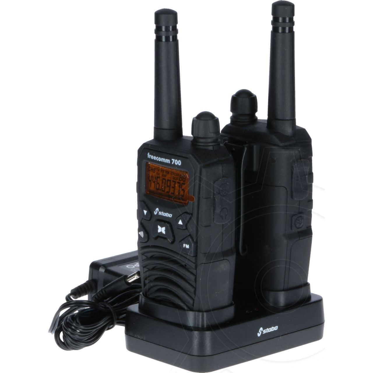 stabo freecom 700 set pmr funkger t walkie talkies. Black Bedroom Furniture Sets. Home Design Ideas