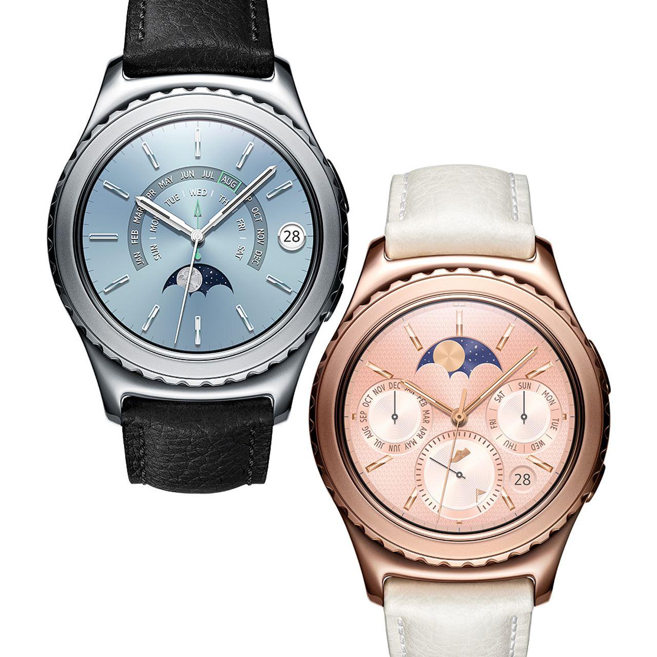Samsung Smartwatch Gear S2 classic, platin