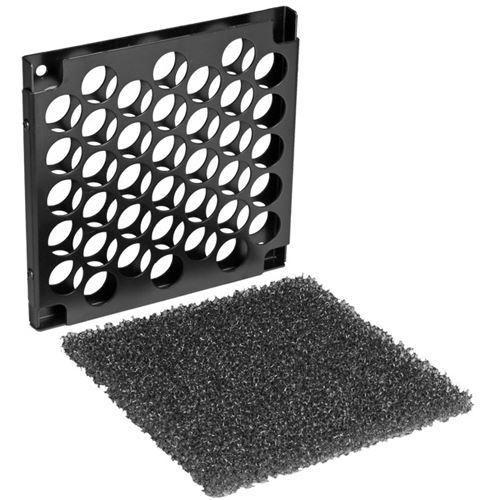 lian li schwarzer 140mm staubfilter f r l fter pt af14 2b. Black Bedroom Furniture Sets. Home Design Ideas