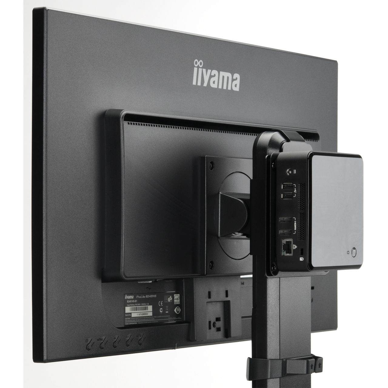 iiyama halterung f r mini pc md brpcv01 zubeh r f r monitore. Black Bedroom Furniture Sets. Home Design Ideas
