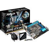ASRock X99E-ITX/AC Intel X99 So.2011-3 Dual Channel DDR4 Mini-ITX