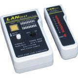 Inter-Tech IPC LANtest Kabeltester, RJ45, RJ11, Koaxial