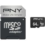 64 GB PNY Turbo Performance microSDXC Class 10 U3 Retail inkl.