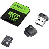 32 GB PNY High Performance microSDHC Class 10 Retail inkl.