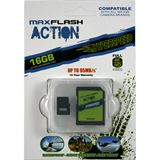 16 GB MAXFLASH Action microSDHC Class 10 U3 Retail inkl. Adapter auf