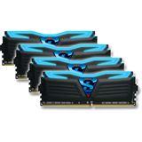 16GB GeIL Super Luce schwarz LED blau DDR4-3400 DIMM CL16 Quad Kit