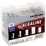 ANSMANN Red-Line Batterie Box LR03/LR6/LR14/LR20/6LR61 Alkaline
