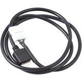 Aqua Computer schwarz 70cm Anschlusskabel für Standard und IP67