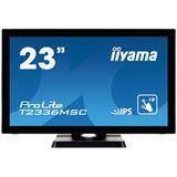 "23"" (58,42cm) iiyama T2336MSC-B2 Touch schwarz 1920x1080 1xDVI /"