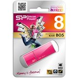 8 GB Silicon Power Blaze B05 pink USB 3.0