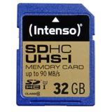 32 GB Intenso Professional SD UHS-I Retail