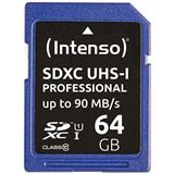 64 GB Intenso Professional Performance microSDHC Class 10 U1 Retail