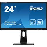 "24"" (60,96cm) iiyama ProLite B2482HD schwarz 1920x1080 1xDVI / 1xVGA"