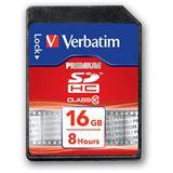 16 GB Verbatim SDHC Class 10 Retail