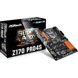 ASRock Z170 Pro4S Intel Z170 So.1151 Dual Channel DDR4 ATX Retail